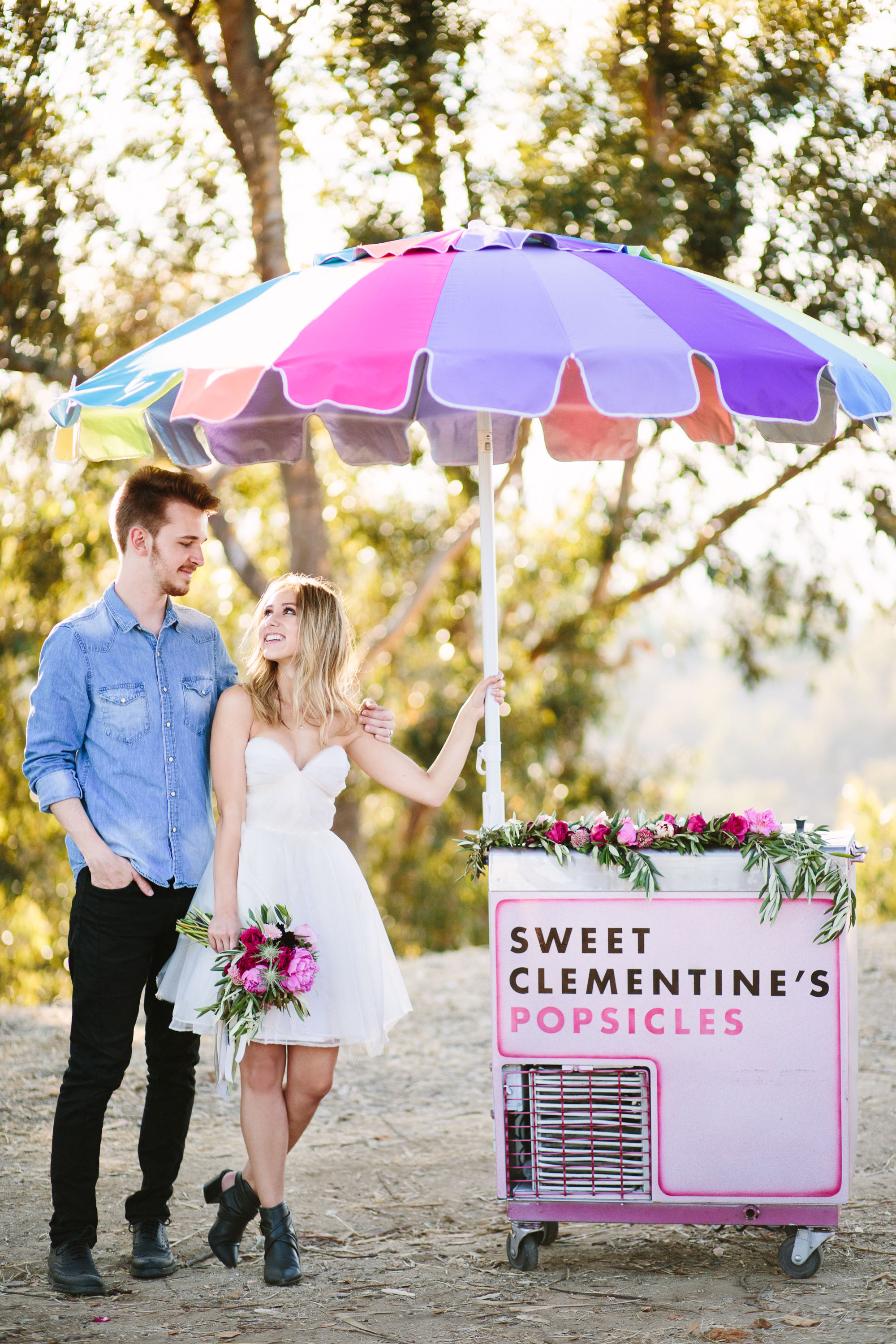 Endless Summer Engagement Inspiration