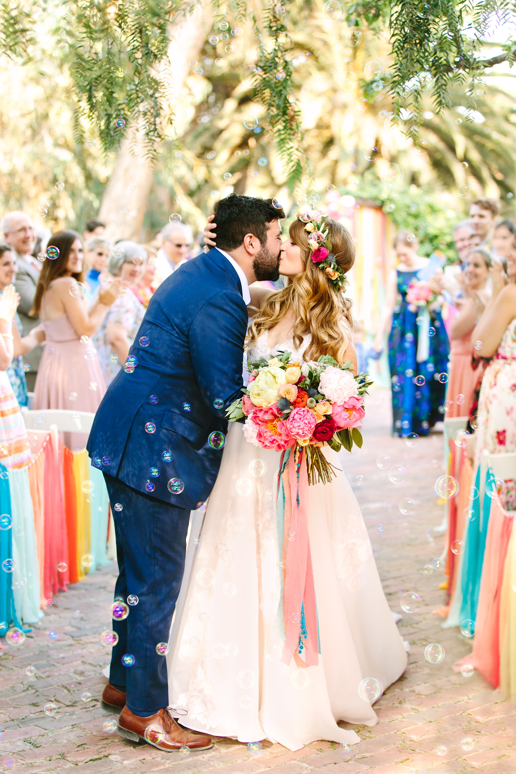 Our Colorful California Wedding at McCormick Home Ranch